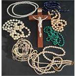 Vintage Costume Jewellery and Crucifix