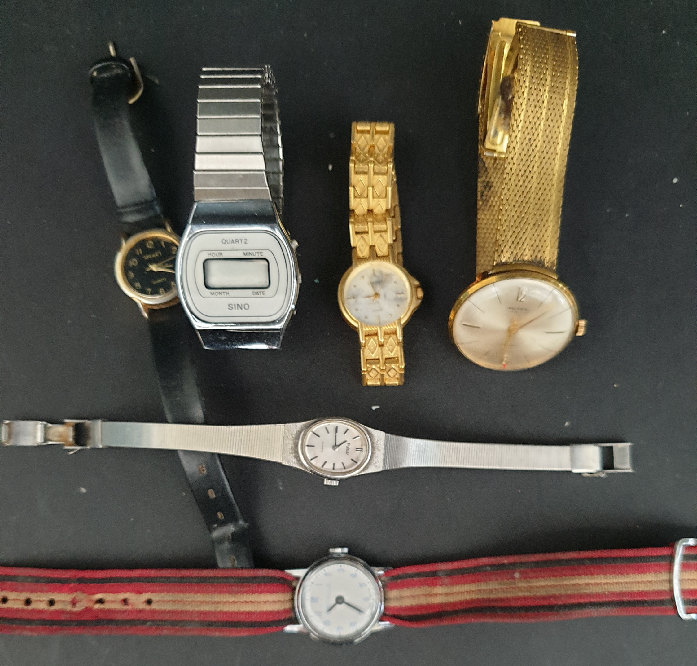 Parcel of 6 Assorted Watches Includes Ingersoll