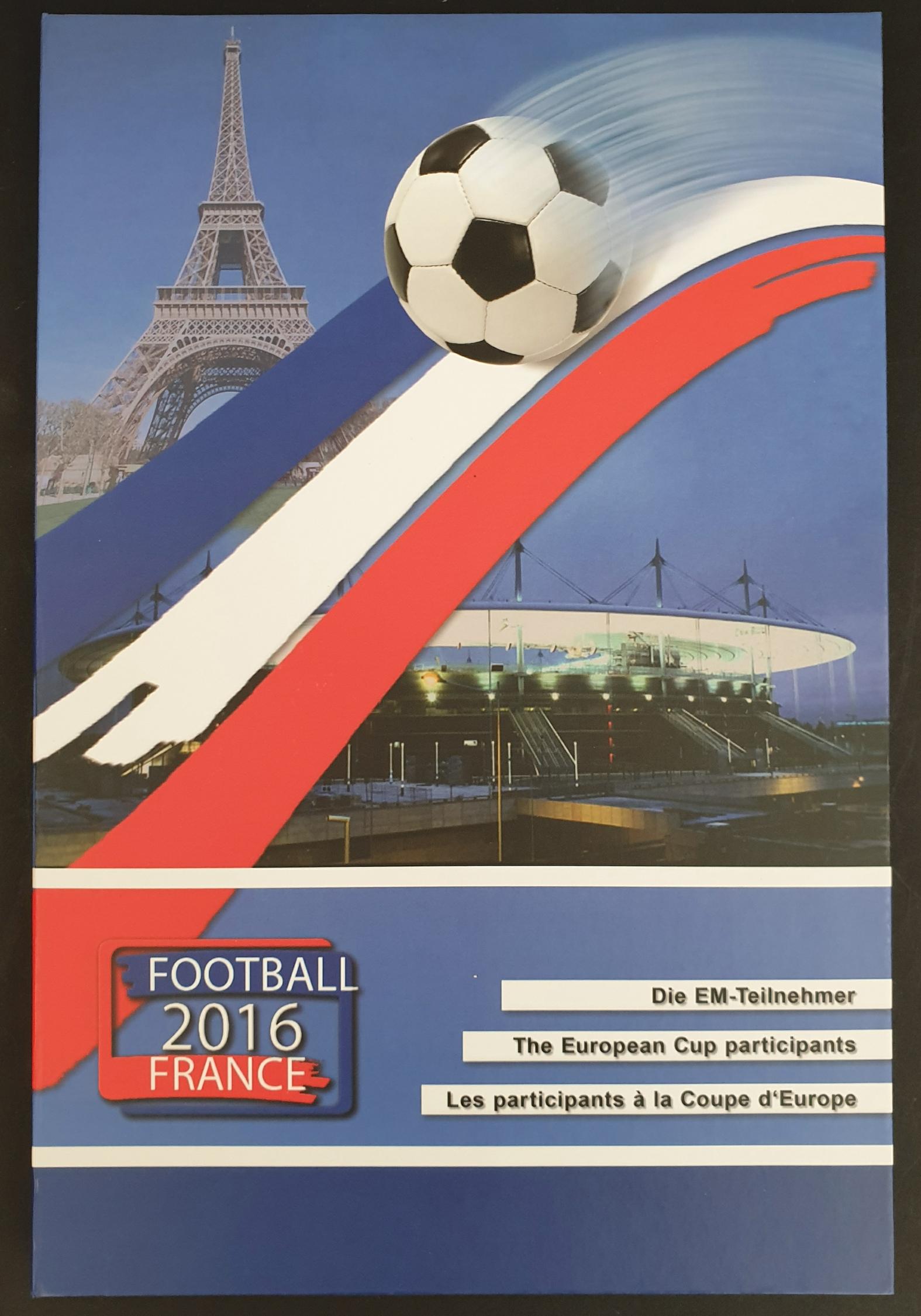 Collectable Coins European Cup Participants France 2016Trinitas - Image 2 of 2