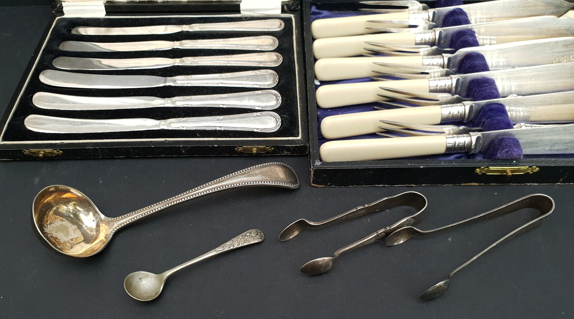 Vintage 2 x Boxed Flatware and Others - Image 2 of 2