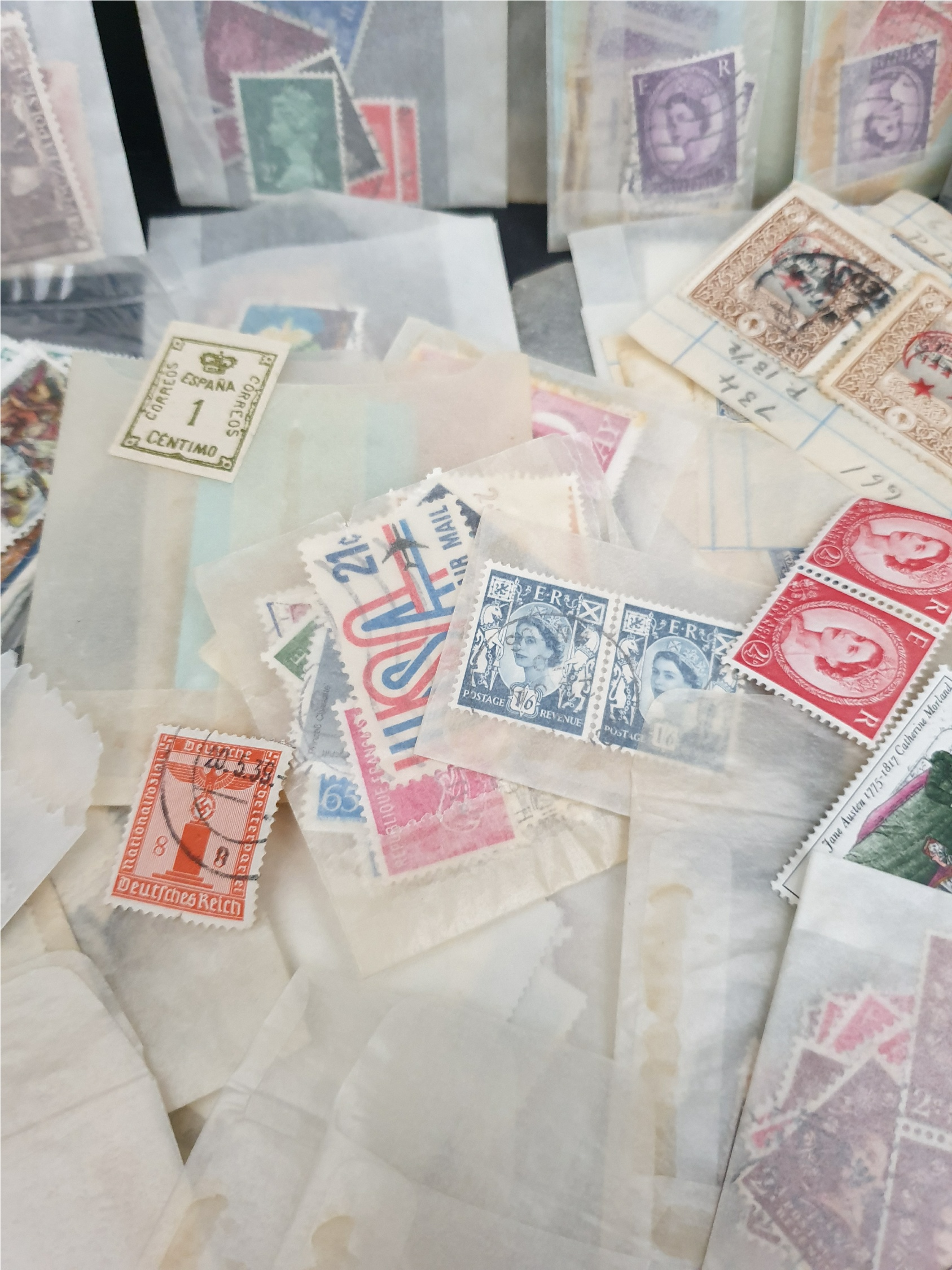 Parcel of 150 Plus Assorted Posatage Stamps - Image 3 of 3