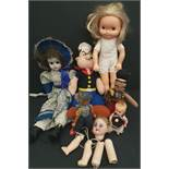 Parcel of 7 Collectable Dolls