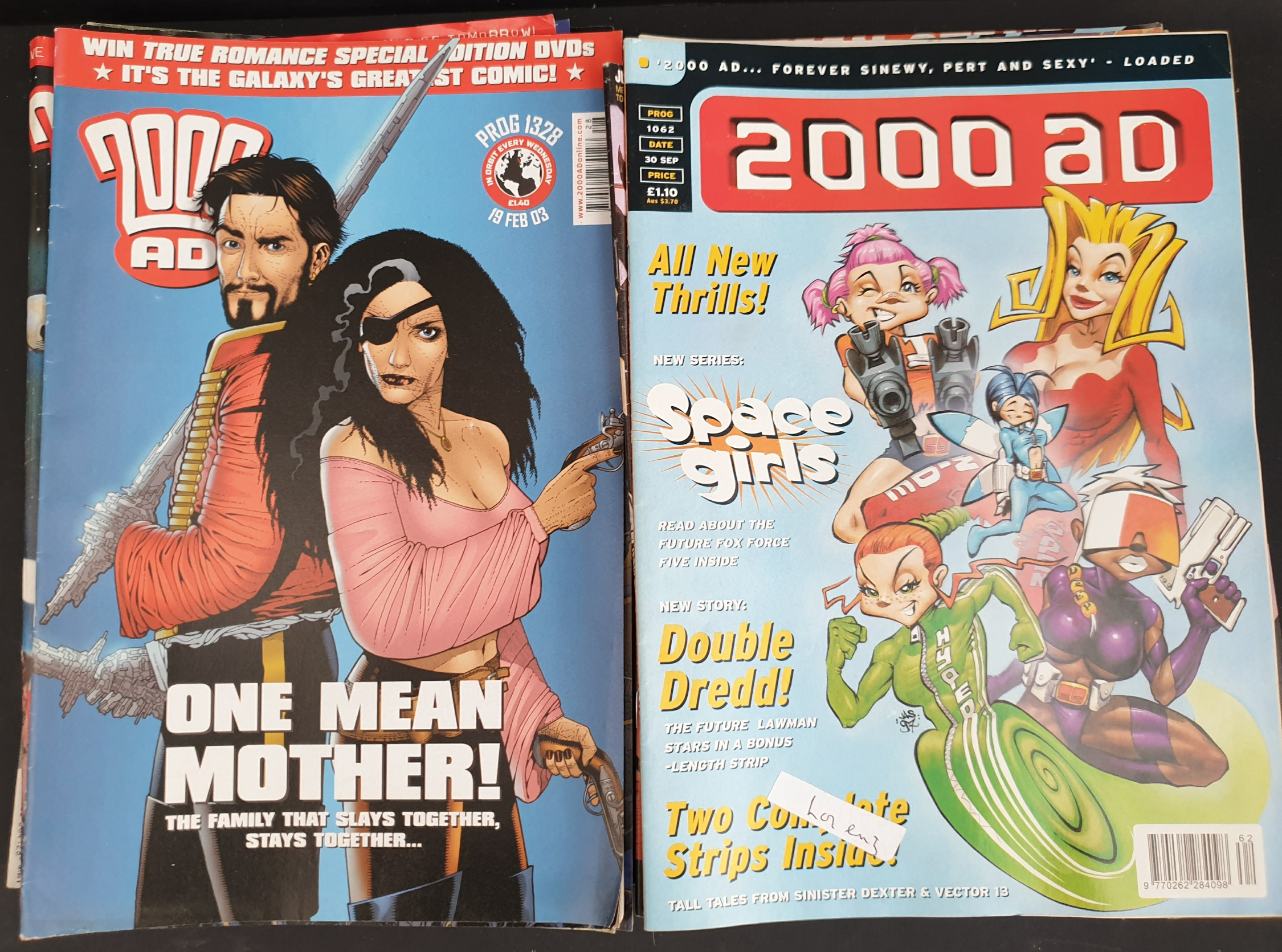 Vintage Parcel of 25 Collectable Comics 2000 AD Judge Dredd - Image 2 of 2