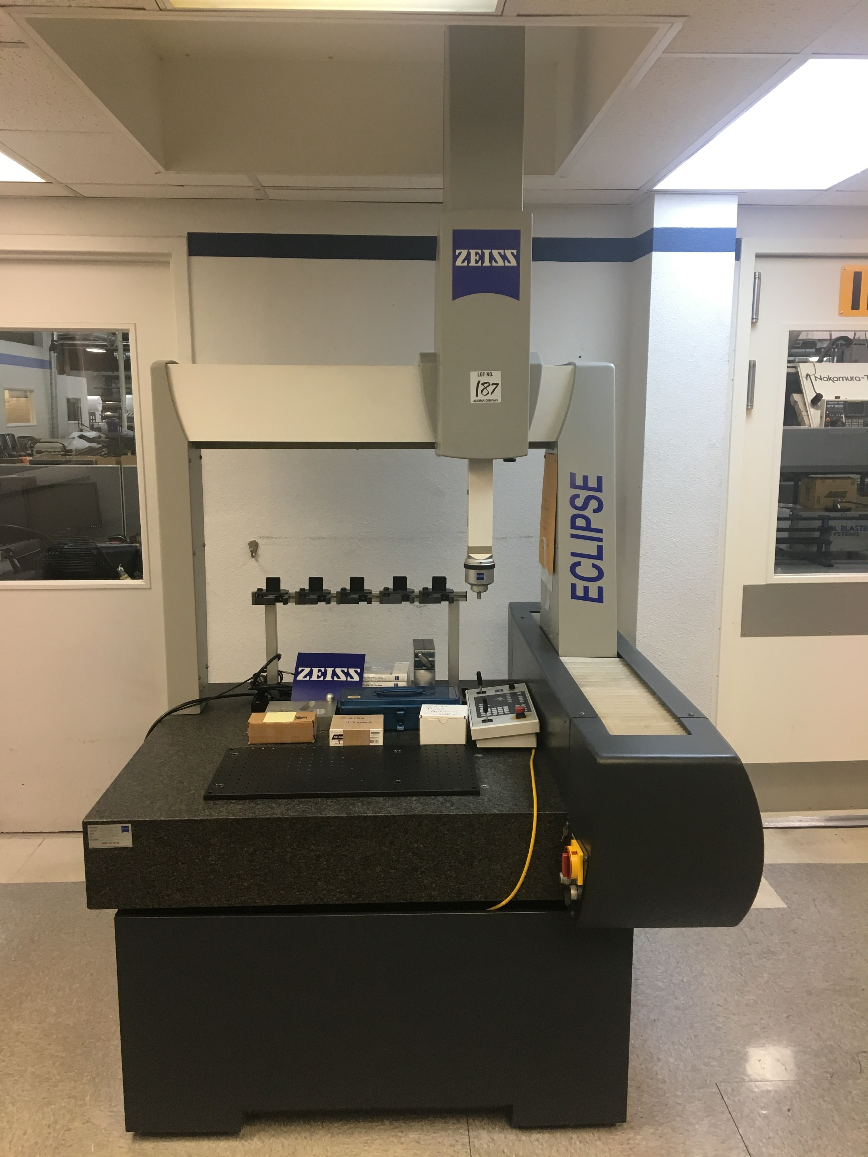1998 ZEISS ECLIPSE CMM MDL  W72951, INCLUDES 5 6 SOFTWARE