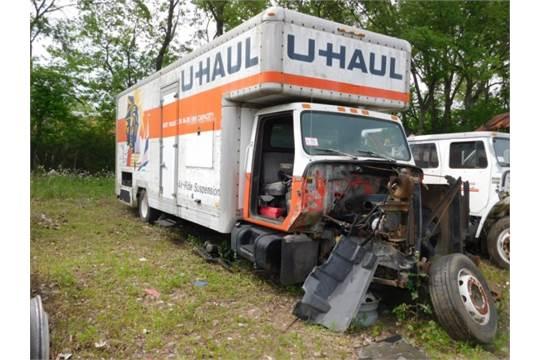 1989 International S1800 24 U Haul Box Truck W Box Cab