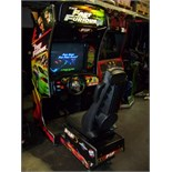 FAST AND FURIOUS SITDOWN DRIVER ARCADE GAME