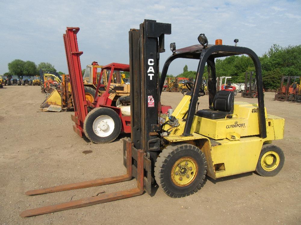 Caterpillar v80 Forklift Wiring