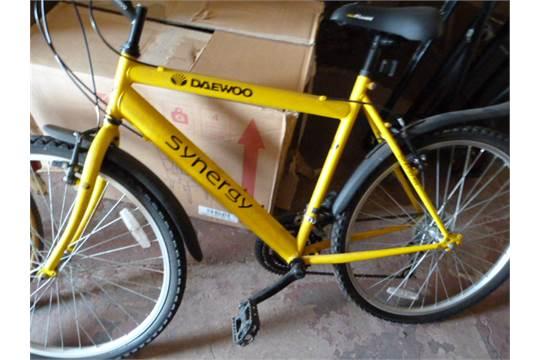 Daewoo Synergy 400 Gent's Mountain Bike - Yellow