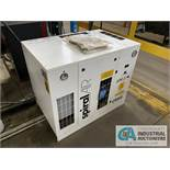 3 HP SPIRAL AIR TYPE SPR-3T AIR COMPRESSOR; S/N API739585, 11,261 HOURS SHOWING (NEW 2016)
