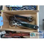 (LOT) CRESCENT WRENCHES
