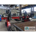 "9' X 20' CUTTING SYSTEMS RAPTOR TWO-TORCH CNC PLASMA TABLE WITH (2) 260 AMP HYPERTHERM ""TRUE HOLE"""