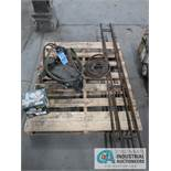 CASO TANK TORCH BURNER WITH (2) 6' TRACKS