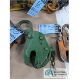 1 TON RENFROE PLATE LIFTING CLAMP