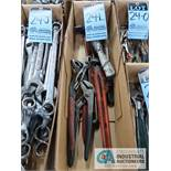 PIPE WRENCHES & CHANNEL LOCKS