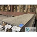 (LOT) APPROX. 3,150 LBS. UNCOATED SHEET STEEL, 1-STACK, 2-BUNDLES, SEE INVENTORY FOR LISTING.