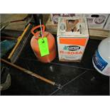 LOT OF 2 tanks R404A refrigerant, 1 full, 1 half to third full ***Auctioneer Note*** -- $10