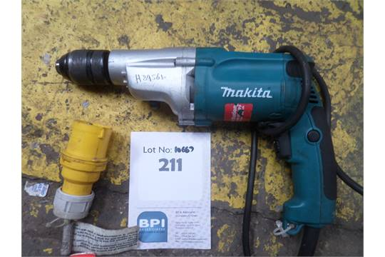 Descripcin MAKITA DP4011 2 SPEED PERCUSSION DRILL