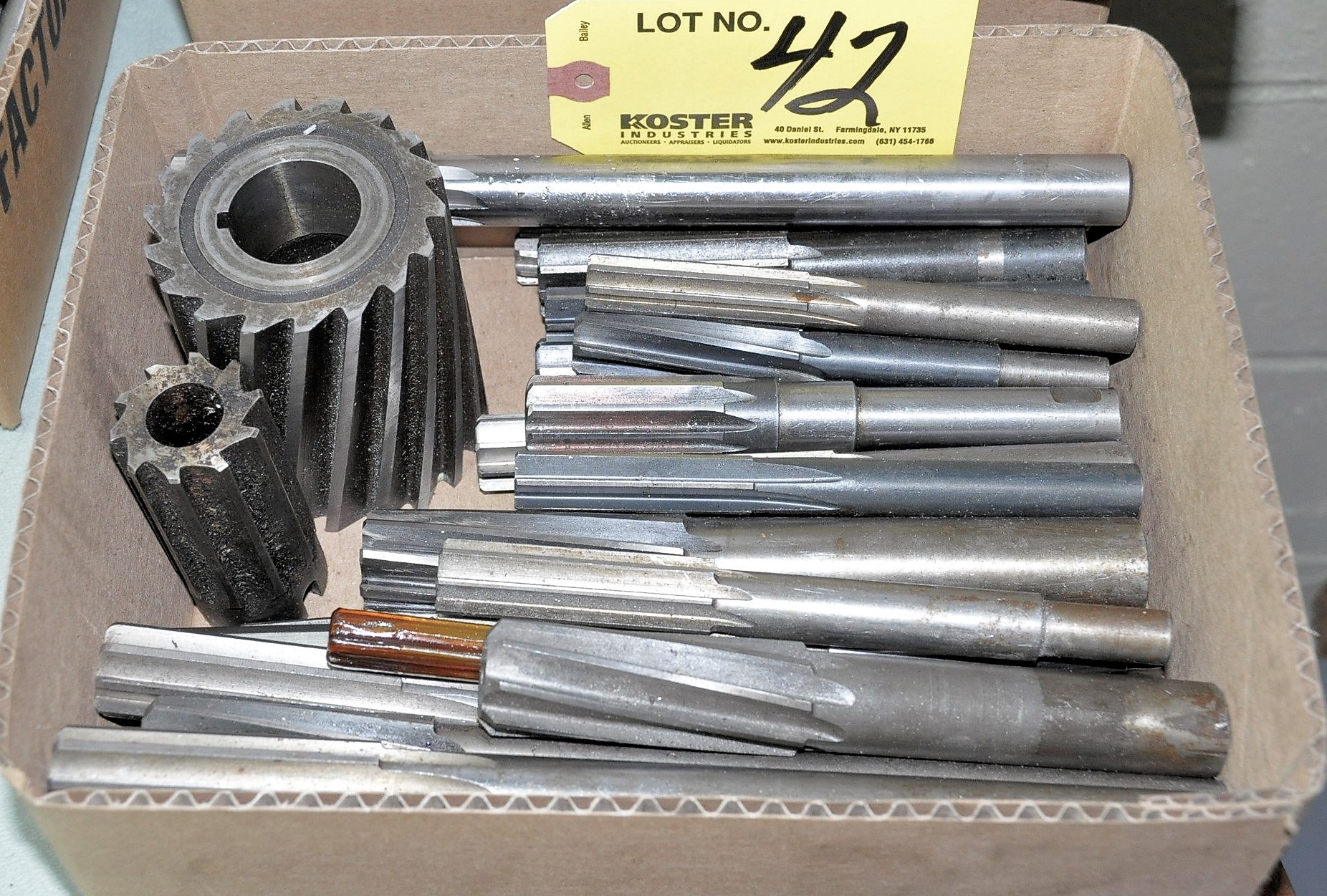 Lot 42 - REAMERS IN (1) BOX