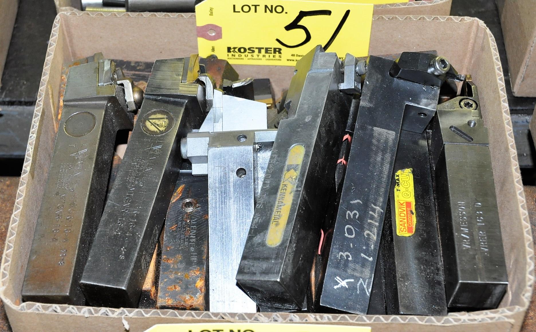 Lot 51 - INSERT TYPE BORING BARS IN (1) BOX
