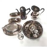 Misc Lot of Silver Plate etc
