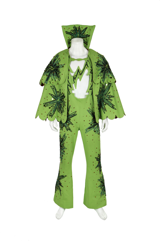 lot 103 will ferrell semi pro costume a green roller skate costume worn by