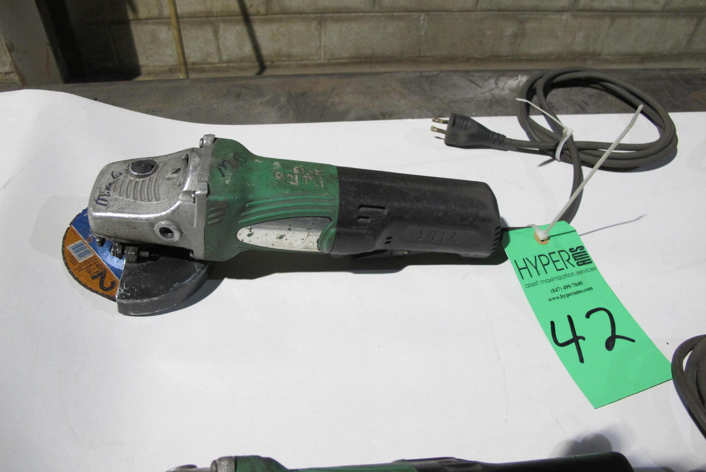 """Lot 42 - Hitachi 4"""" grinder"""