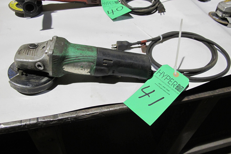"""Lot 41 - Hitachi 4"""" grinder"""