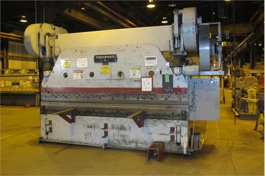 cincinnati mdl 9 series x 225 ton x 10 mechanical press brake 6 rh bidspotter com Press Brake Parts List Cincinnati Press Brake Book