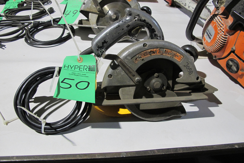 "Lot 50 - Black & Decker 7-1/4"" circular saw"