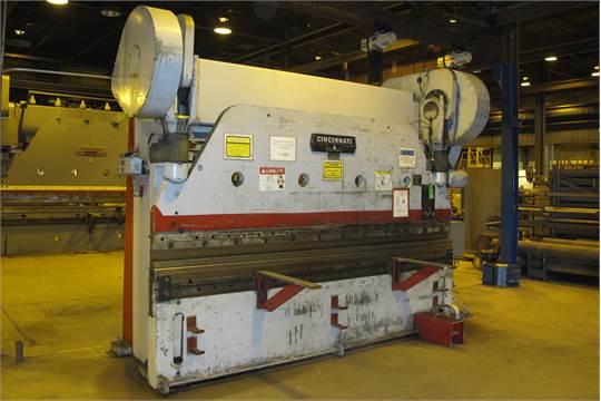cincinnati mdl 9 series x 225 ton x 10 mechanical press brake 6 rh bidspotter com Cincinnati MaxForm Press Brake Cincinnati Press Brake AutoForm 230 Pump