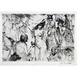 Lovis Corinth. Antike Legenden.Zwölf Radierungen. 1919/1920. Ca. 25 : 34 cm (45 : 58 cm).
