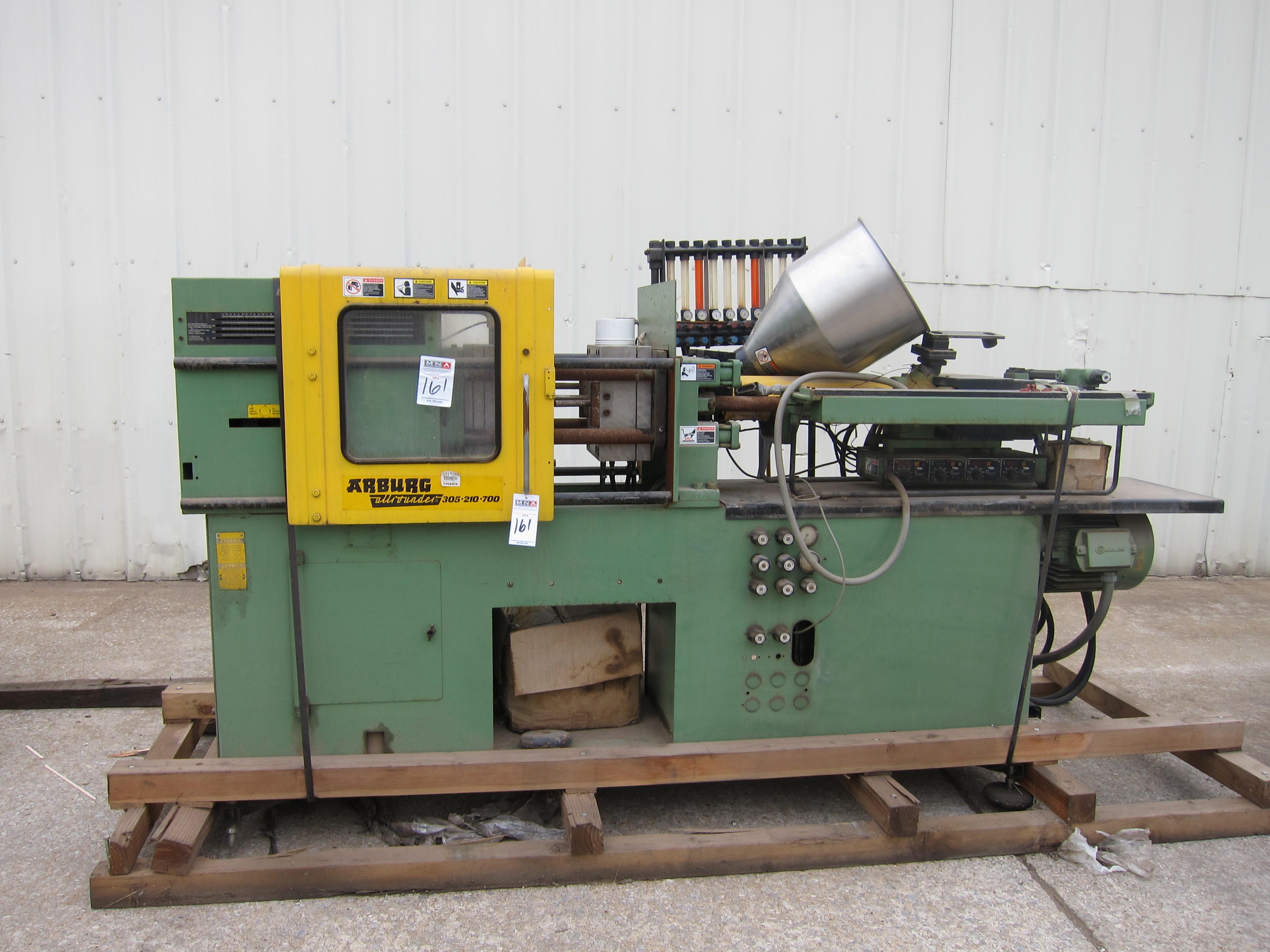 arburg allrounder 305 210 700 injection molding machine ref 161 rh bidspotter com Machine Molding Arburg Forinsert Injection Molding Machine Diagram