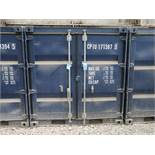 7' WIDE X 8' LONG CONTAINER PROVIDER INTL CONEX STORAGE CONTAINER WITH STANDARD DOOR, 351 CU. FT.
