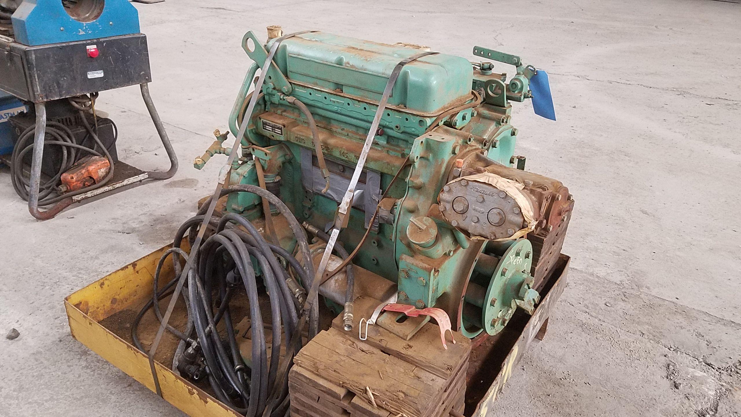 Lot 476B - DETROIT DIESEL ENGINE