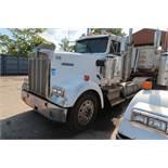 1993 KENWORTH TANDEM AXLE ROAD TRACTOR; VIN 2XKWDB9X0PM613893, CAT ENGINE, 280,992 MILES, UNIT 135