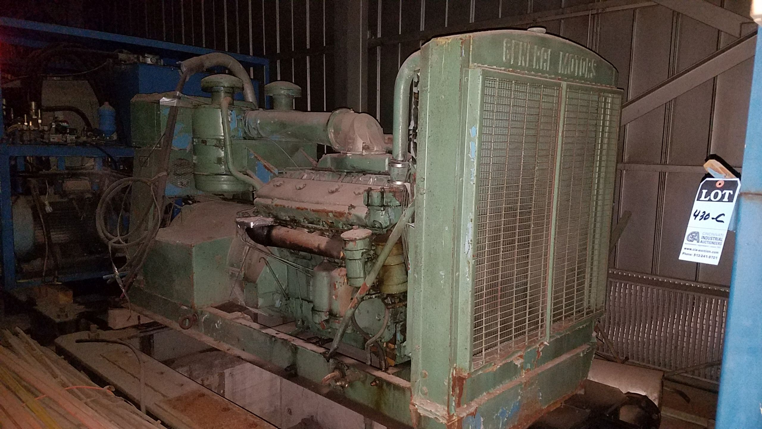 Lot 430D - 300 KW / 375 KVA O'BRIEN ENERGY SERVICES MODEL OB300D-DW63 DIESEL POWERED GENERATOR; S/N G-4504