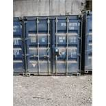 8' X 8' CONTAINER PROVIDER INTL CONEX STORAGE CONATINER WITH STANDARD END DOOR, 561 CU. FT.