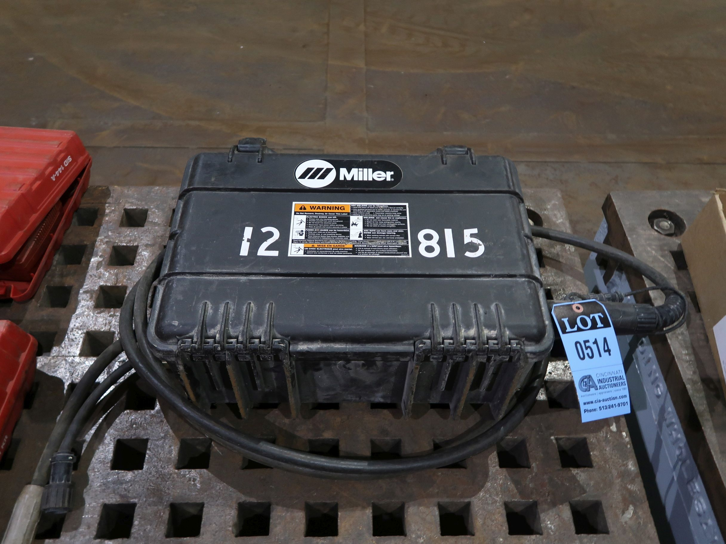 Lot 514 - MILLER IRONMATE FC-1260 SUITCASE WELDER