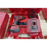 "1/4"" HILTI CORDLESS HEX IMPACT WRENCH WITH CHARGER"