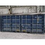 8' X 20' CONTAINER PROVIDERS INTERNATIONAL CONEX CONTAINER, SIDE AND END DOORS; NO. 555715 (NEW