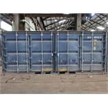 "238"" X 95"" X 100"" X 1094 CU. FT. CONEX STORAGE CONTINER WITH STANDARD DOOR AND SIDE DOOR ENTRANCE"