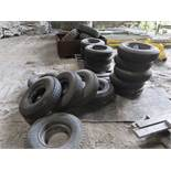 (LOT) TRUCK AND HEAVY EQUIPMENT TIRES