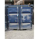 7' WIDE X 8' LONG CONTAINER PROVIDER INTL CONEX STORAGE CONATINER WITH STANDARD DOOR, 251 CU. FT.