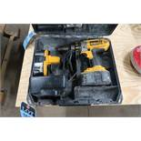 "1/2"" DEWALT CORDLESS DRILL WITH CHARGER"