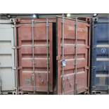 8' WIDE X 20' LONG CHARLESTON MARINE CONEX STORAGE CONTAINER