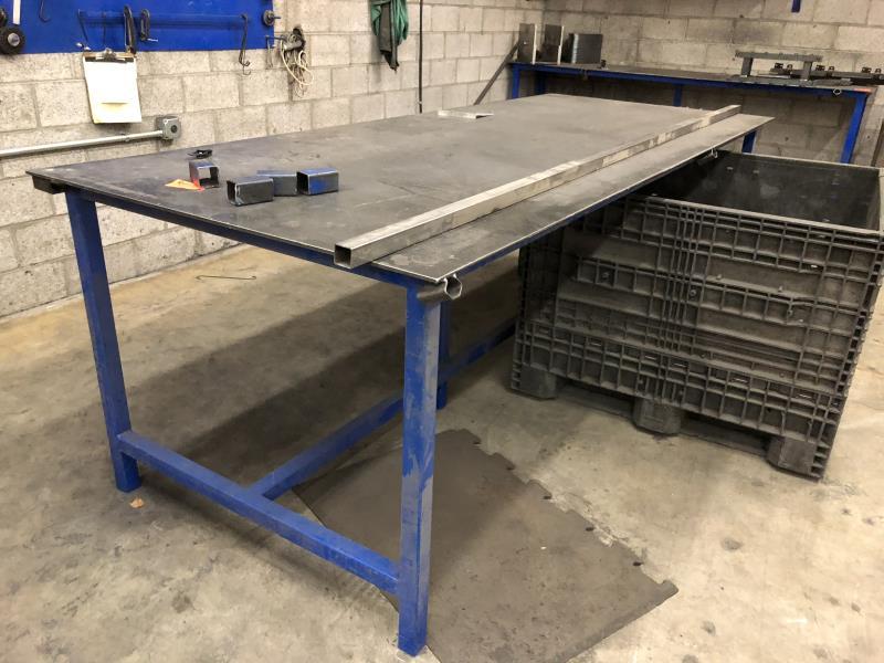 Lot 29 - Welding Table 10'x4'