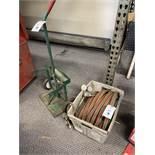 Cylinder Cart with Hose and Gauges
