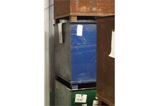 . Lot of  3  Material Storage Bins  34  X 40  X 30