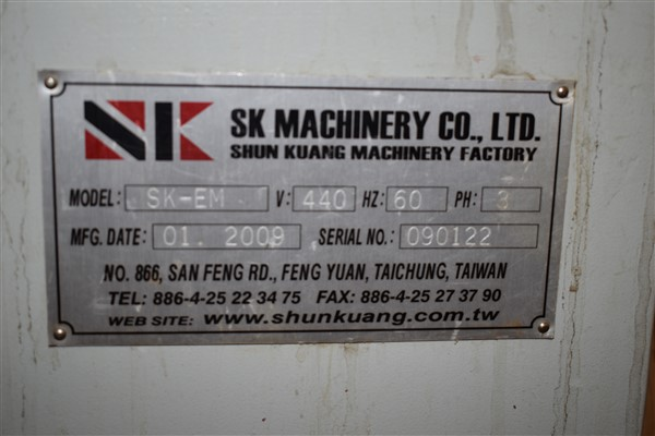 Lot 320 - SK Machinery Moulder