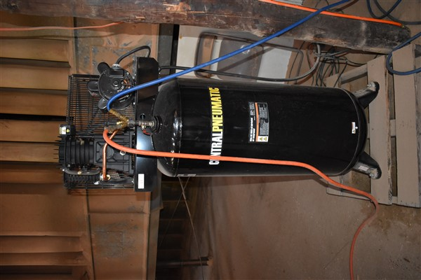 Lot 13 - Central Pneumatic Air Compressor